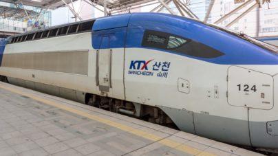 Reizen van Seoul naar Busan met de KTX hogesnelheidstrein