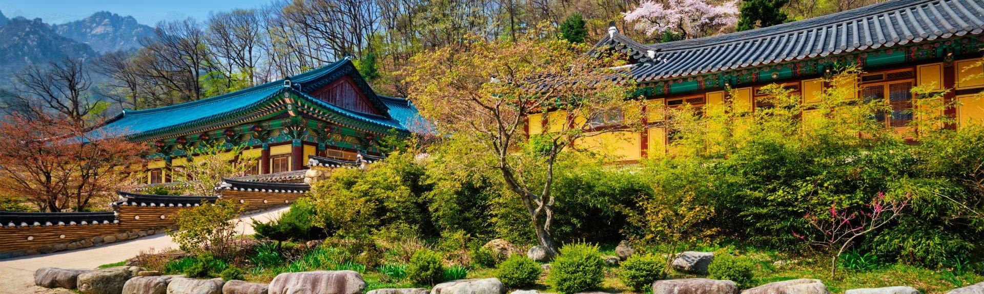 sinheungsa-tempel seoraksan national park
